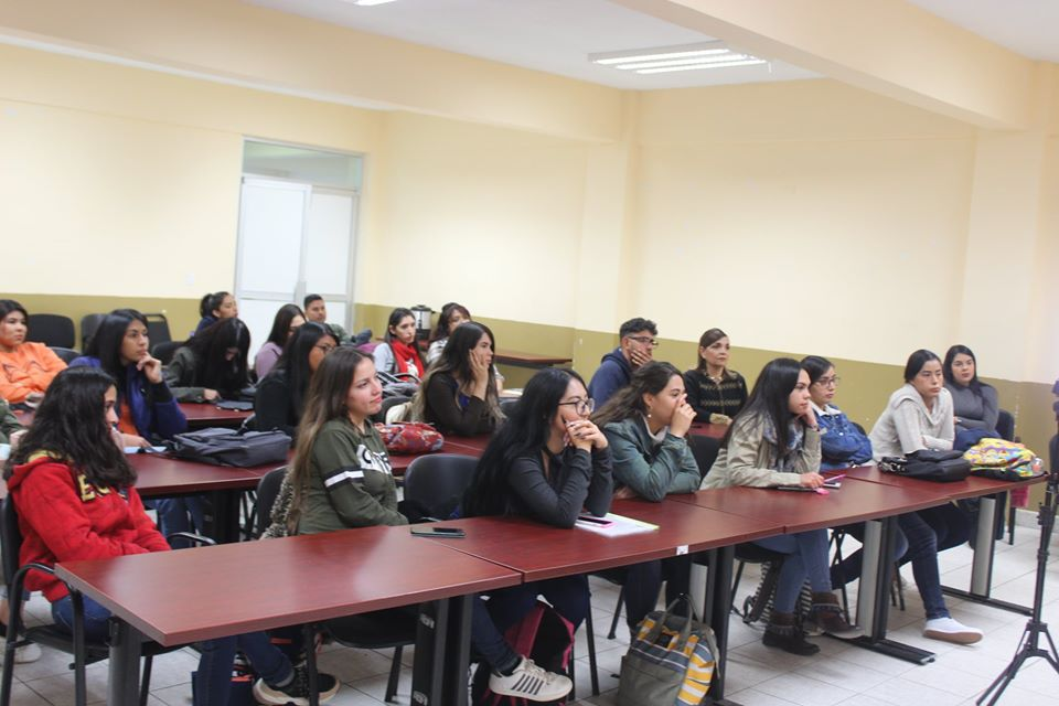 Alumnos en actividades académicas de cierre de semestre agosto-diciembre 2019