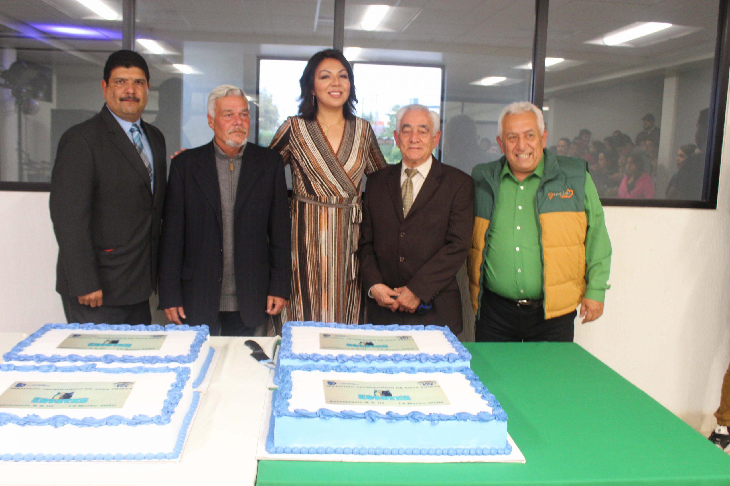 Ceremonia y convivio en el marco del XXIII Aniversario del TecNM Campus Agua Prieta