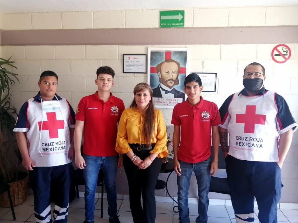 Estudiantes del TecNM Campus Agua Prieta desarrollan sistema automatizado para Cruz Roja
