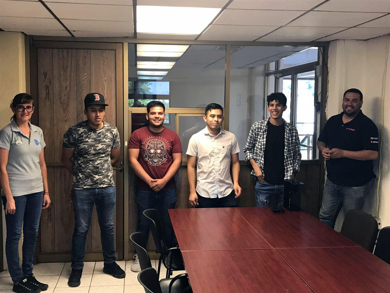 Estudiantes del TecNM Campus Agua Prieta elaboran prototipo de dispensador ultrasónico de gel antibacterial