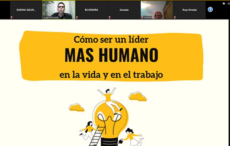 """Comunidad del TecNM campus Agua Prieta asiste a videoconferencia """"Cómo ser un líder más humano en la vida y en el trabajo"""""""