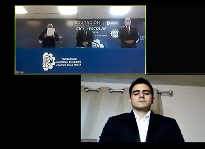 Primera titulación en línea en el TecNM Campus Agua Prieta