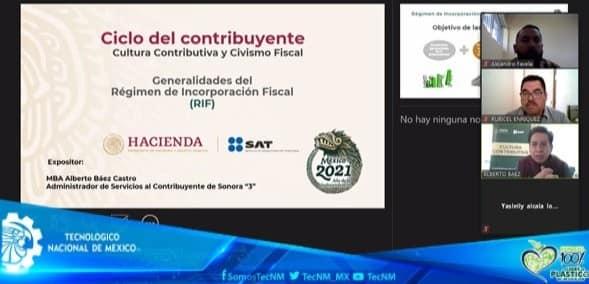 ASISTE COMUNIDAD TECNOLÓGICA A VÍDEO CONFERENCIA DEL SAT